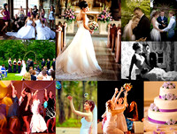 Professional Wedding Photography Collage in Atlanta